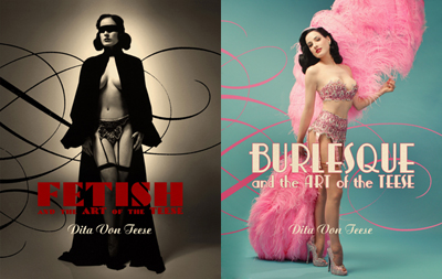 Dita von Teese' Fabulous Double-Sided Book is still available everywhere online and in stores.