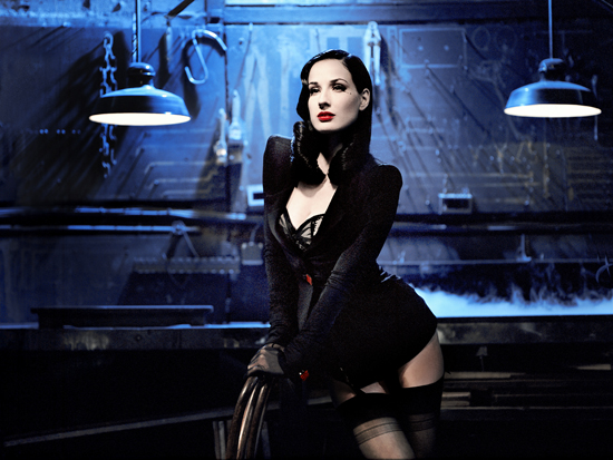 Dita von Teese. Photo Courtesy of www.dita.net / by Ali Mahdavi & Suzanne von Aichinger