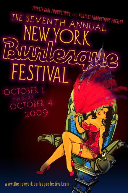 The New York Burlesque Festival 2009