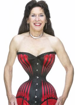 Cathie Jung, with a waist of 15 inches!