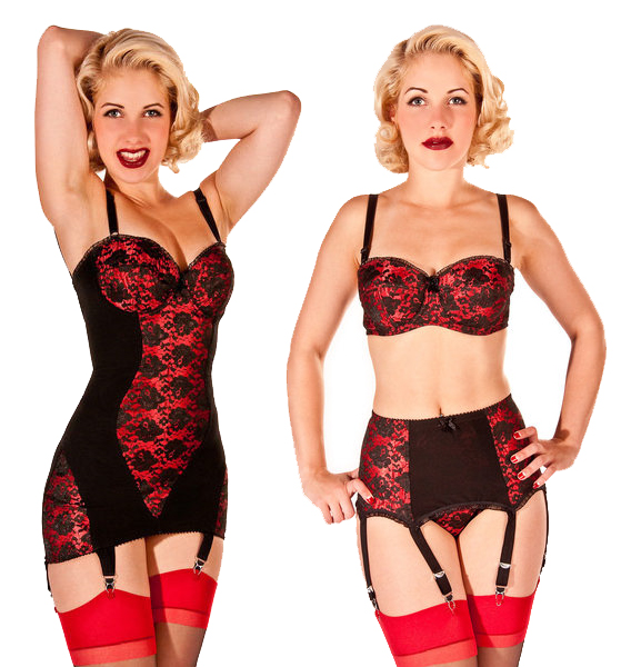 What Katie Did Lulu lingerie, also available at La Magia.