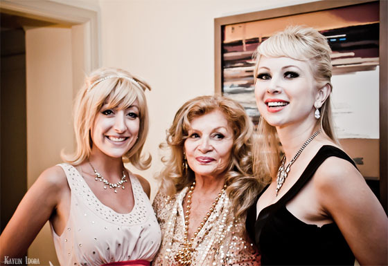 From left to right: Trixie Minx, Bambi Jones and Dinah Might. (©Kaylin Idora. Please ask permission for use.)