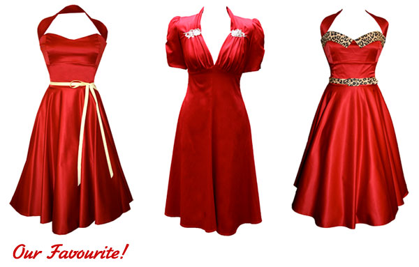 Red Dresses - Tara Starlet (©Tara Starlet)