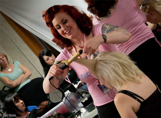 Hair, makeup and costume workshops are also available at BurlyCon.