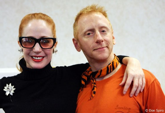 Catherine D'Lish and Tigger! have both led classes and workshops at BurlyCon. (©Don Spiro)