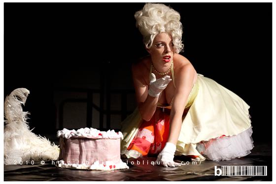 Australia's Finest: Imogen Kelly at The Burlesque Ball, 2010.  ©Brent Leideritz