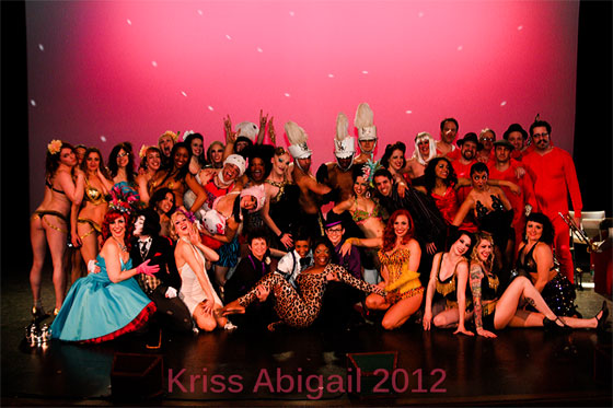 The festival cast and crew.  ©Kriss Abigail