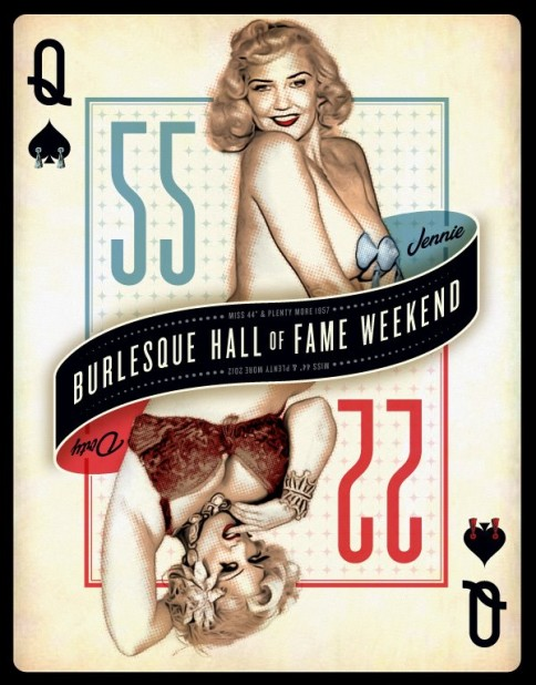 The Beautiful BHoF 2012 Poster! Are you a Jennie or a Dirty?  ©BHoF