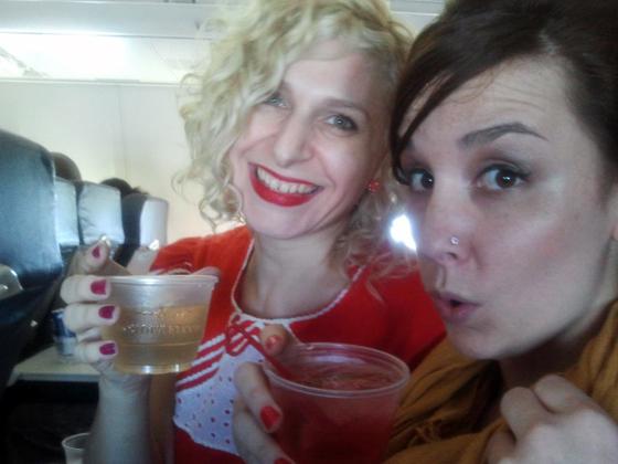 Plane cocktails!  ©Minnie Tonka