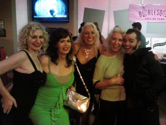 Minnie, Markinka, Viva La Fever, Dee Milo and Creamed Stu at the after party. ©Minnie Tonka
