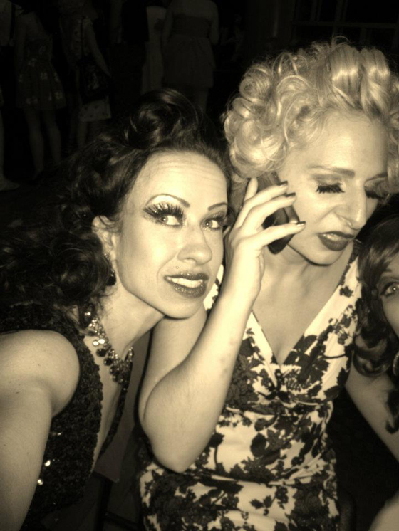 Drunk dialling Tigger! with Sweetpea...  ©Minnie Tonka