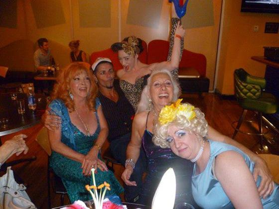 The Final After Show Party at Big Al's Comedy Club...  ©Kitty Bang Bang