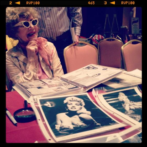 La Savona at the Legend Photo Signing.  ©Frenchie Kiss