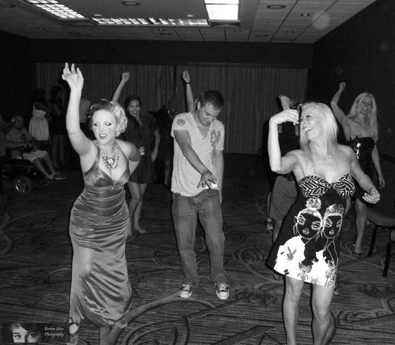 The Friday dance party.  ©Broken Glass Photography