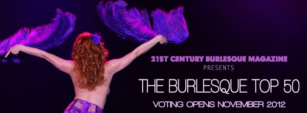 Voting Open: The Burlesque TOP 50 2012
