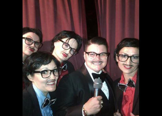 Will the real Murray Hill please stand up? Starlets and Murray as Murrays!  ©Lily Bloom