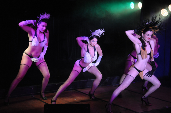 Polly Rae and Girlys performing 'Bumps and Grinds' in 2008.  ©Claire Elaine CottinghamClaire Elaine CottinghamClaire Elaine Cottingham
